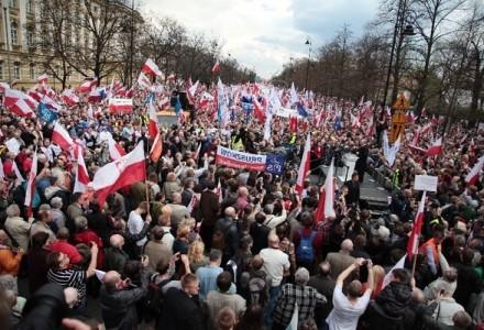 Manifestacja w obronie TV Trwam i wolności słowa w Polsce – Warszawa 19 maja 2013