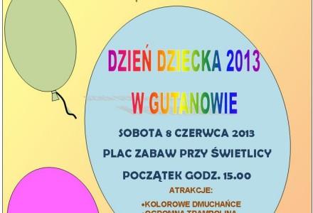 Dzień Dziecka w Gutanowie – 8 czerwca 2013 (sobota)