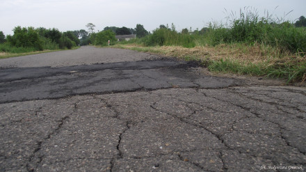 Droga Piotrowice - Leśce