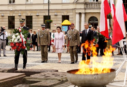 Inauguracja Lubelskiego Bractwa Kurkowego z udziałem Pani Prezydentowej Karoliny Kaczorowskiej