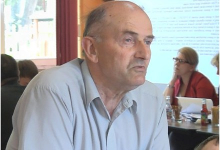 Radny Tadeusz Tarka z Borkowa opowiada o wizycie w wiosce pod Przemyślem, w której jest farma wiatrowa [wideo]