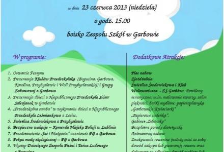 VI Festyn Rodzinny w Garbowie – 23 czerwca 2013