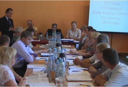 NaszGarbow.TV – XX sesja Rady Gminy Garbów – 21 czerwca 2013 (całość)