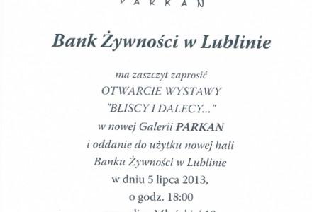 Bank Żywności w Lublinie zaprasza!