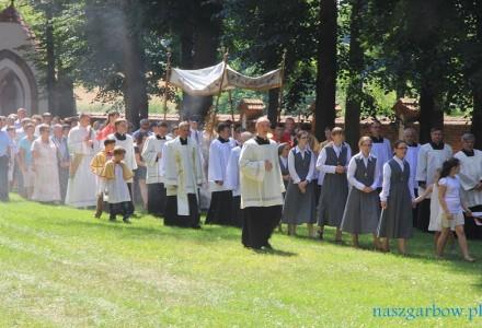 Galeria z Uroczystości Przemienienia Pańskiego w kościele w Garbowie. 6 sierpnia 2013.