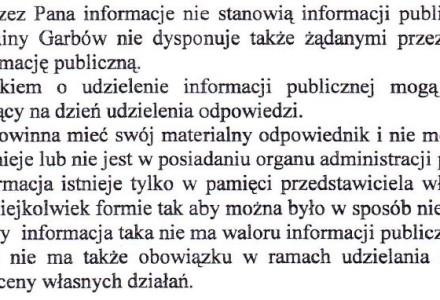 Ile zapłaci Polkomtel, kto osobiście negocjował z najemcą, jak zostaną zabezpieczone interesy gminy? Wójt odmawia udzielenia informacji.