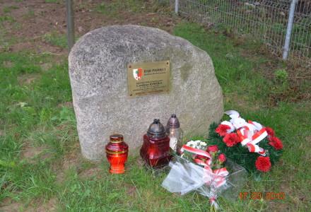 17 września 2013 r. W rocznicę napaści sowieckiej na Polskę w Garbowie uczczono asp. Czesława Jędrejka ofiarę mordu katyńskiego