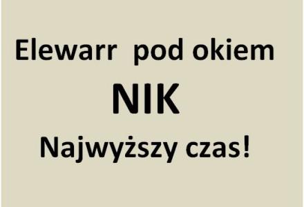 Kwiatkowski wysyła NIK do słynnego Elewarru (czytaj na wpolityce.pl)