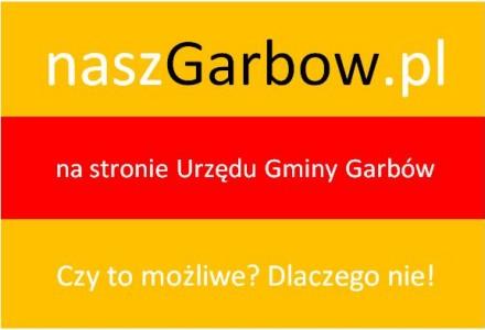 Złożono wniosek o umieszczenie informacji o naszgarbow.pl na oficjalnej stronie Gminy Garbów.