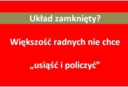 Wniosek o przeprowadzenie rzetelnej ekspertyzy ekonomicznej odnośnie zakupu wody od zewnętrznych spółek odrzucony. Kompromitacja większości radnych gminy Garbów.