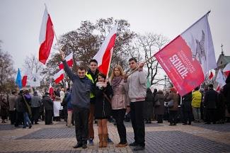 Manifestacja w obronie wolności w Polsce. Lublin 17 listopada 2013 – relacja