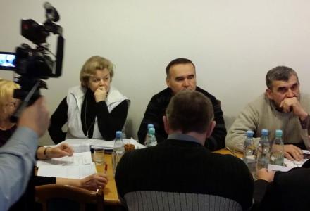Pierwsze w historii nagrywanie obrad Komisji Finansów Rady Gminy Garbów. Styczeń 2014