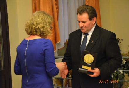 Nagroda za Zasługi dla Ziemi Garbowskiej 2013 r. dla Gustawa Jędrejka