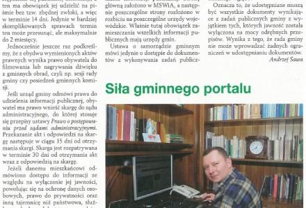 """Piszą o nas. Miesięcznik  """"Top Agrar"""" w styczniowym numerze zamieszcza rozmowę z wydawcą serwisu """"NaszGarbow.pl"""""""