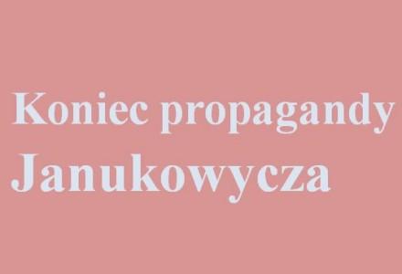 Cudowna przemiana czwartej władzy. W ukraińskich mediach Janukowycz z męża stanu nagle stał się złoczyńcą