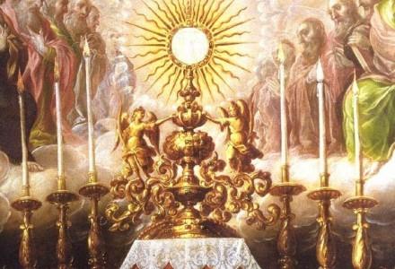 Każda Msza św. opiera się o Krzyż na Golgocie i taką ma wartość, jak tamta Ofiara, w łączności z tamtą Ofiarą. [słowo na niedzielę]