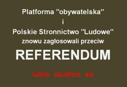 Sejm po raz kolejny odrzucił wniosek PiS o przeprowadzenie referendum ws. sześciolatków. Przeciw: PO, PSL i Twój Ruch
