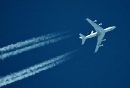 Samolot AWACS NATO nad Garbowszczyzną