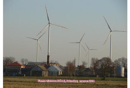 Dolce vita z wiatrakami czyli fotoreportaż z farmy wiatrowej Iłża II