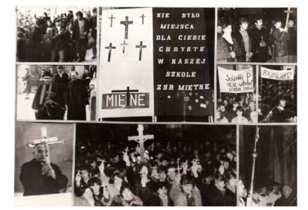 Minęło 30 lat od Obrony Krzyży w Miętnem [historia wydarzeń]