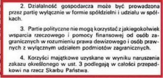 Tusk złamał prawo? Zagraniczne finansowanie partii jest zakazane