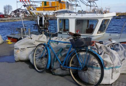 """Rower rybaka"" – Jastarnia, kwiecień 2014"