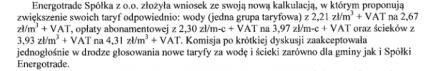 KR 17 maja 2011 zatwierdzenie taryf