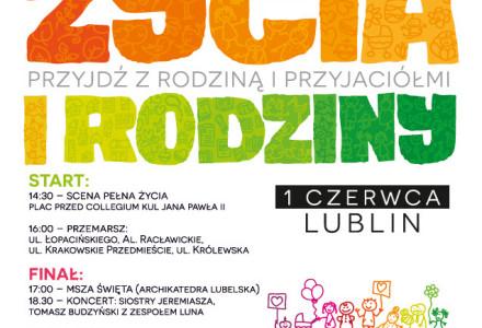 Marsz dla Życia i Rodziny – Lublin, 1 czerwca 2014 r.