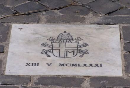 33. rocznica zamachu na Jana Pawła II