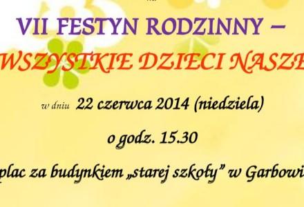 VII Festyn Rodzinny w Garbowie