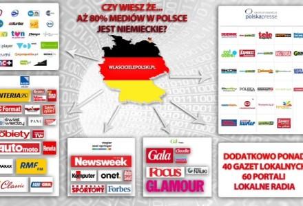 Czy wiesz, że aż 80% mediów w Polsce należy do niemieckiego kapitału?