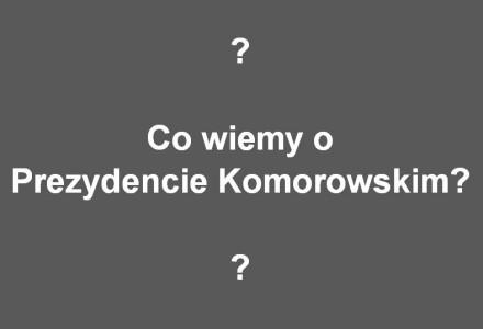 Czego Polacy nie wiedzą o Bronisławie Komorowskim? Już latem 1989 roku Komorowski spotyka się w rosyjskich nieruchomościach przy al. Szucha z ludźmi ze służb specjalnych