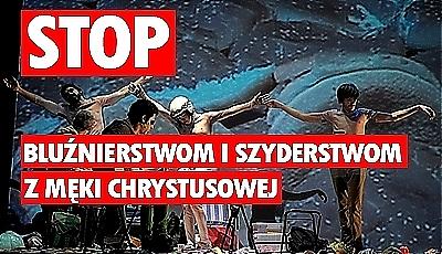 Media o proteście przeciwko bluźnierstwom w Poznaniu