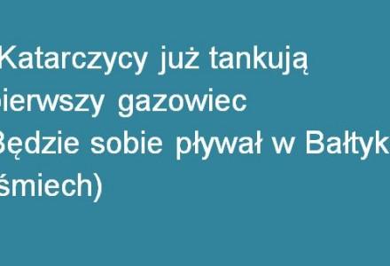 Nowe fragmenty nagrań. Tym razem o budowie gazoportu w Świnoujściu. Całkowita kompromitacja rządu