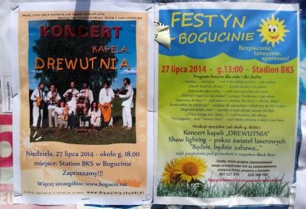 """Festyn w Bogucinie! W programie kapela """"Drewutnia"""""""