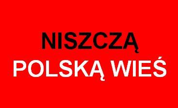 Nasz dziennik: Ministerstwo rolnictwa niszczy polską wieś