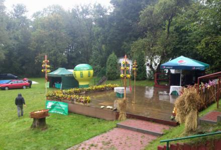 24 sierpnia 2014. Występy i festyn dożynkowy w Garbowie nie odbyły się z powodu deszczu