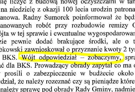 """Ciekawsze niż sądzicie. """"Protokół nr 27.2014 z Komisji Finansów i Rozwoju Gospodarczego Gminy z dnia 6 czerwca 2014 roku."""""""