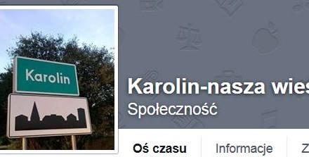 Karolin uruchomił profil na Facebooku