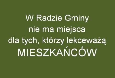 Jak to jest, że 11 z 14 radnych gminy Garbów, mimo sprzeciwu mieszkańców, głosuje za wiatrakami…Co robić?