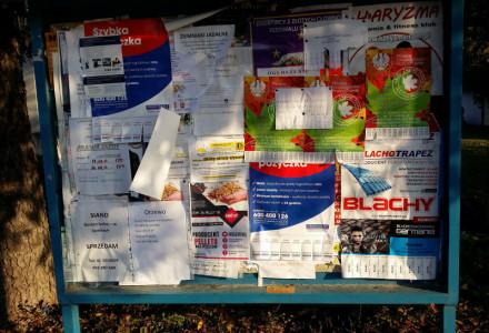 Przypadki niszczenia plakatów wyborczych kandydatki na wójta dr Agnieszki Nalewajek