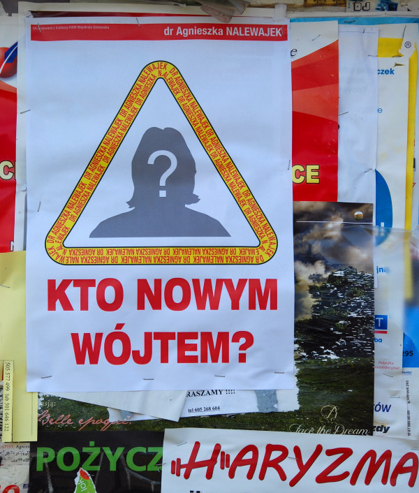 Kto Nowym Wójtem Pierwsze Plakaty Wyborcze Na Tablicach