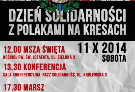 11.10.2014 – Dzień solidarności z Polakami na Kresach
