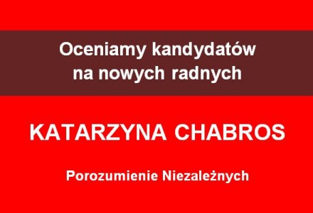 Radna Katarzyna Chabros – zależna od wójta, niezależna od ludzi