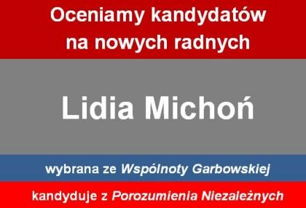 Radna Lidia Michoń – przejście na drugą stronę barykady, brak poparcia dla darmowych sal dla mieszkańców, przeciw rejestrowi wydatków