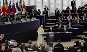 Przemówienie Ojca Świętego Franciszka wygłoszone na forum Parlamentu Europejskiego w Strasburgu