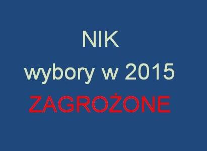 RZECZPOSPOLITA: Wybory w 2015 zagrożone! Według NIK, PKW nie jest w stanie ich zorganizować