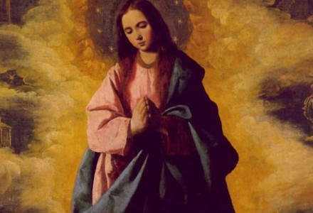 8 grudnia 2014, g. 12.00 – Godzina Łaski. Uroczystość Niepokalanego Poczęcia Maryi