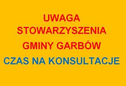 Program Współpracy Gminy Garbów z organizacjami pozarządowymi na 2015 r.  Konsultacje do 7 stycznia 2015 r.