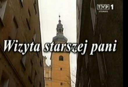 """""""Wizyta starszej pani"""" – Friedrich Durrenmatt – teatr telewizji"""